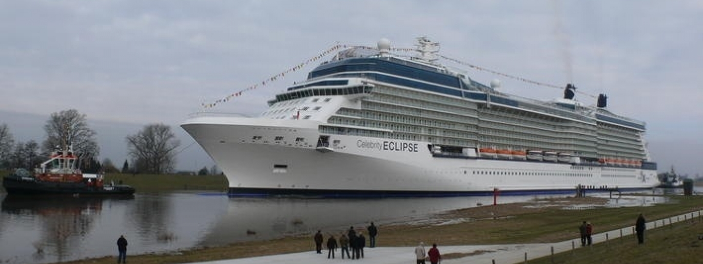 Der mit ULTIMATE-Mineralwolle isolierte Kiel der Celebrity Eclipse