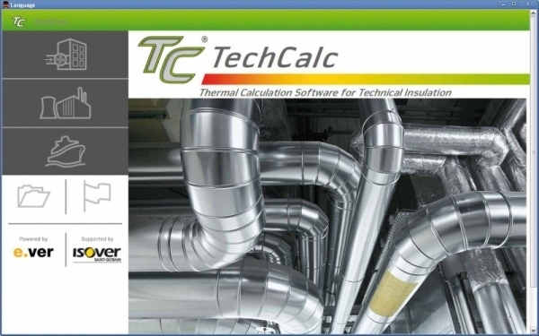 TechCalc 2.0 - Thermische Berechnungssoftware