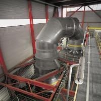 ISOVER insulation for industry boiler tops